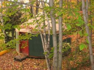 Metta Earth Institute Accommodations: Yurt Exterior
