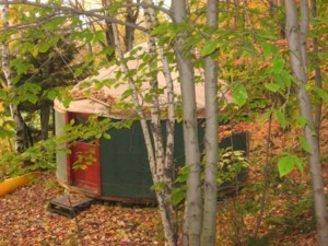 Metta Earth Institute Accommodations: Yurt Exterior