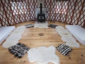 Metta Earth Institute Yurt